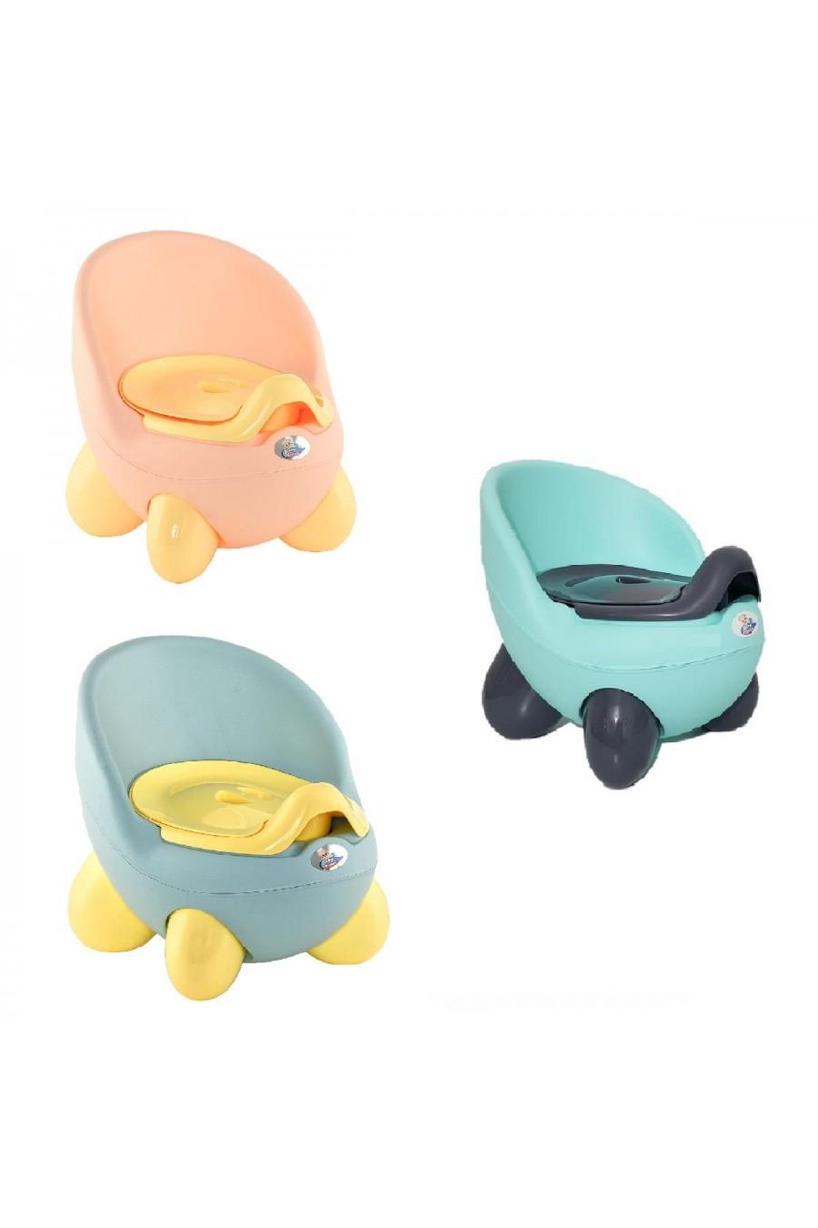Baby Design Kapaklı Lazımlık | Kapaklı Çocuk WC