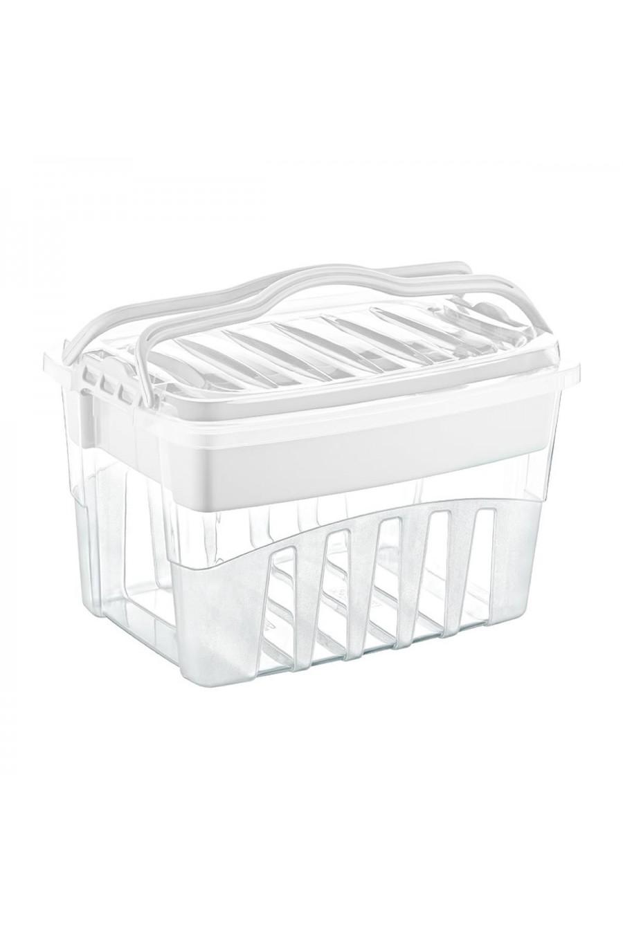PlastArt Kilit Kapaklı Çok Amaçlı Bölmeli Kutu | Toolbox