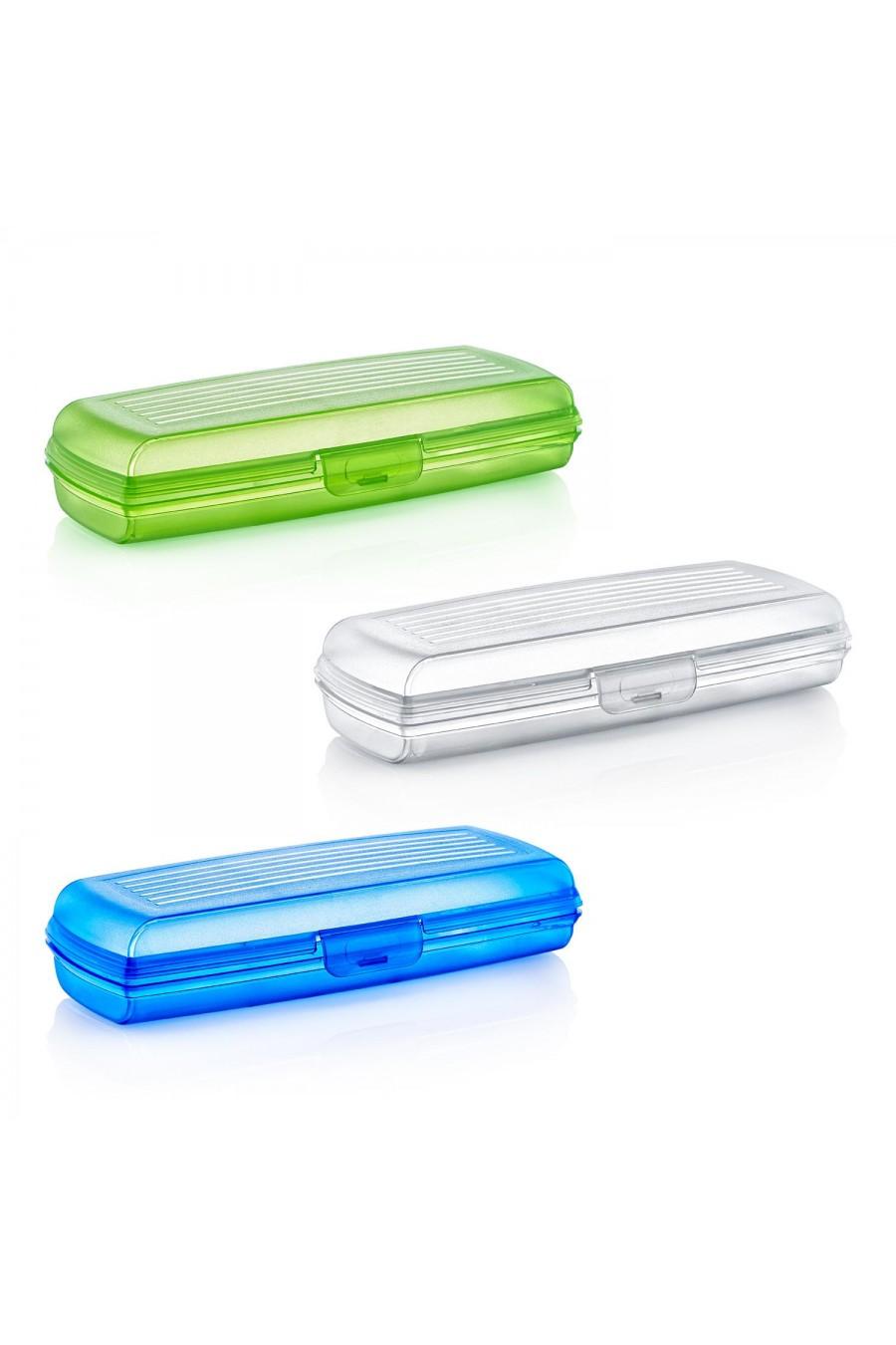 PlastArt Çok Amaçlı Renkli Kutu (Kalemlik-Diş Fırçalık)