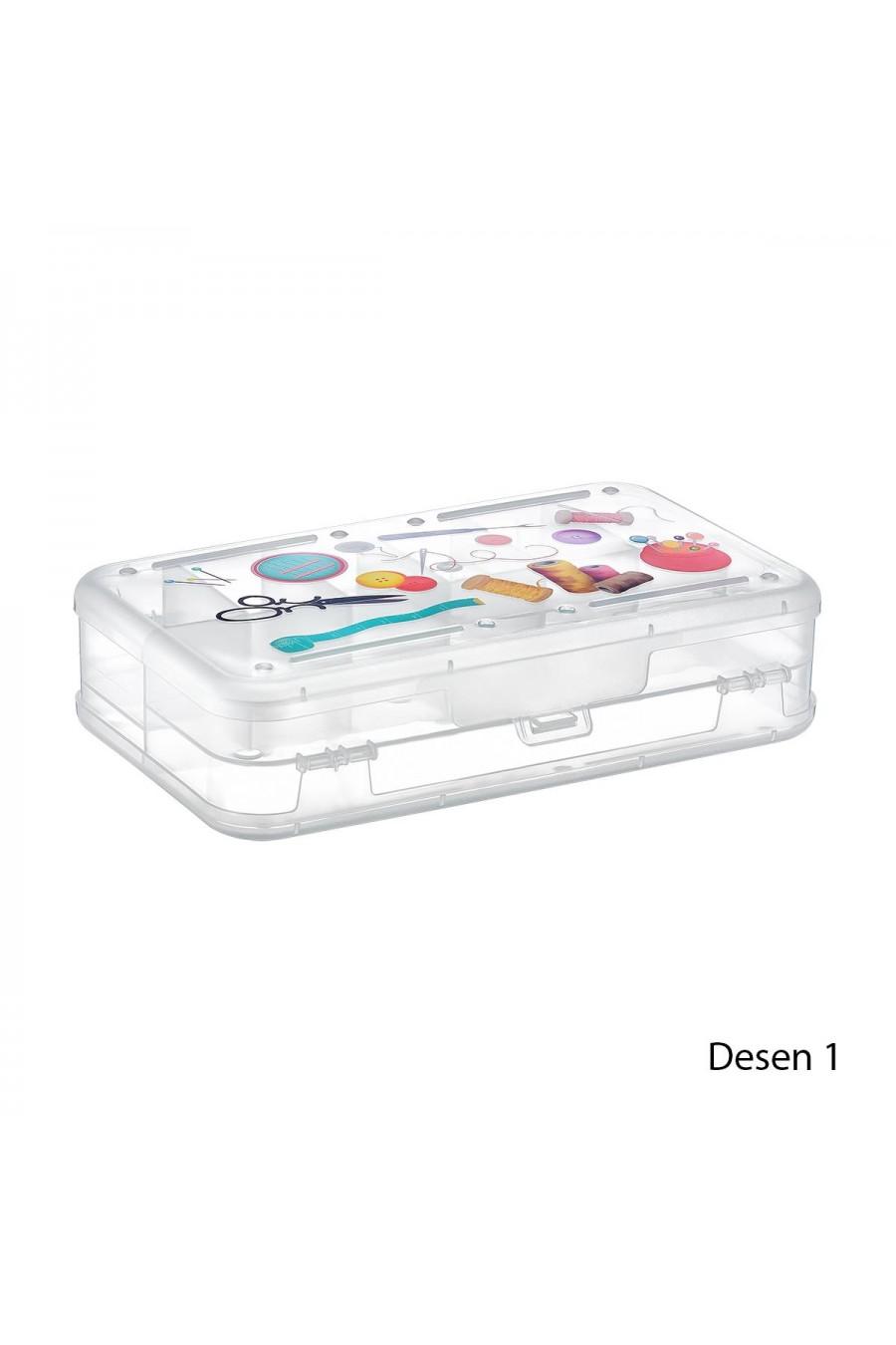 PlastArt Dikiş-Nakış İğne-İplik Kutusu
