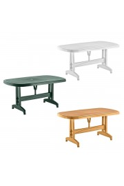 Holiday 90x150 Oval Masa | Bahçe & Balkon Masası