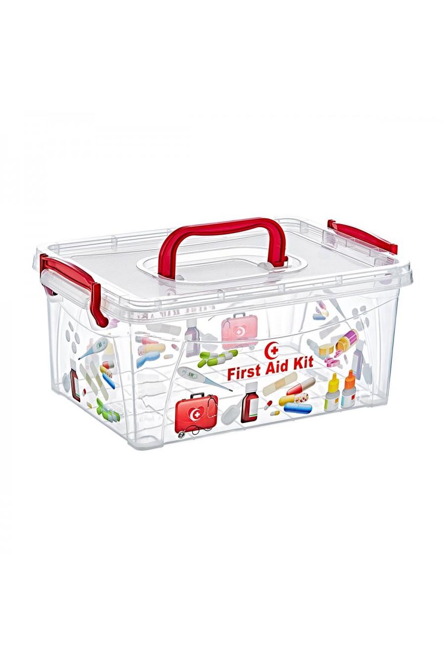 PlastArt İlk Yardım Kutusu | Medicine Box