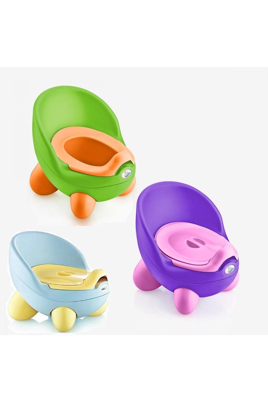 Baby Design Kapaklı Lazımlık   Kapaklı Çocuk WC