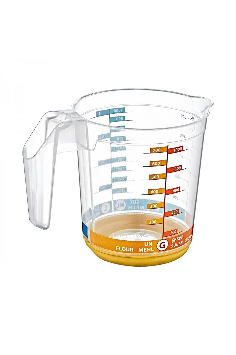 PlastArt Dereceli Ölçü Kabı | 1000 ml