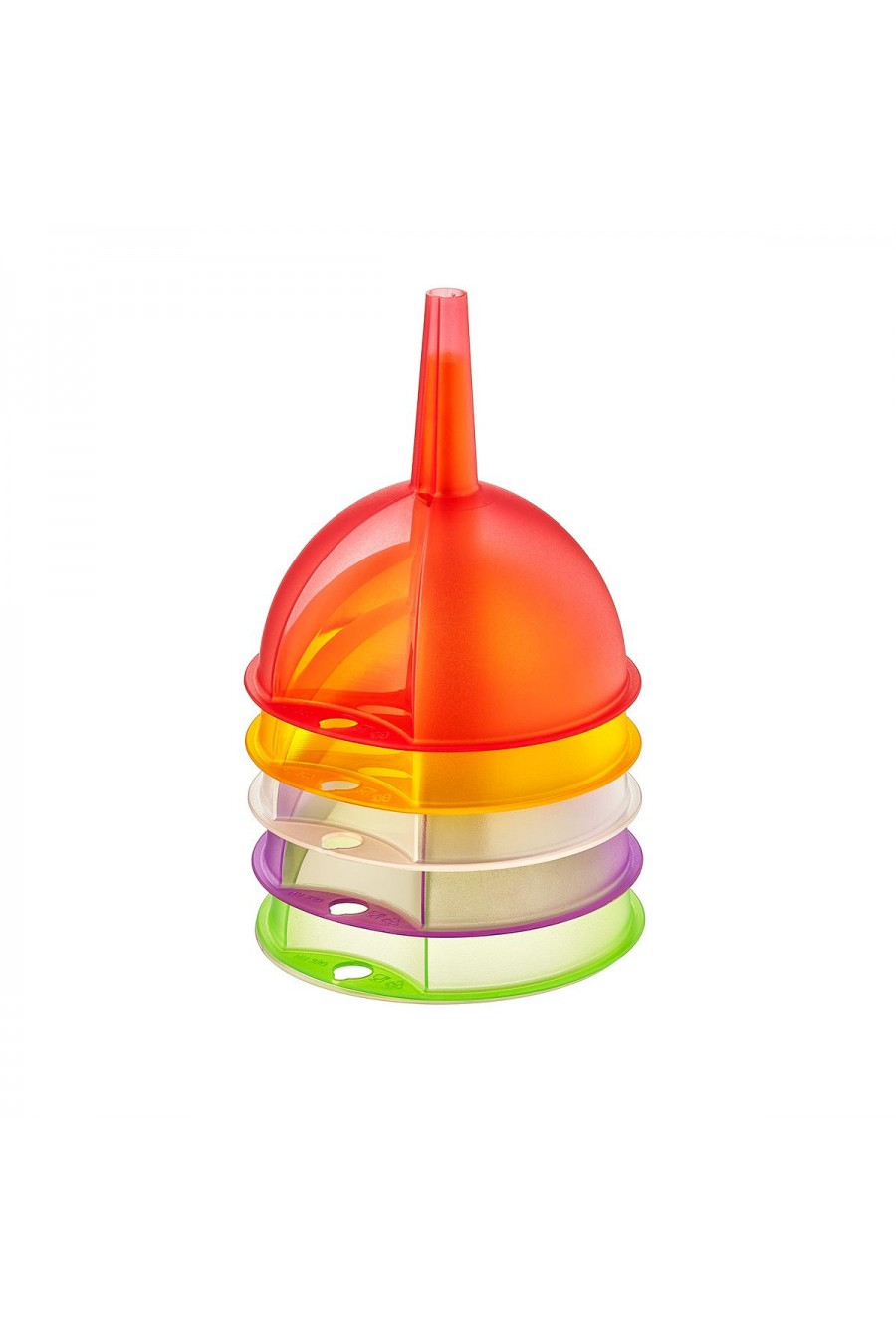 PlastArt  3'lü Plastik Huni Seti