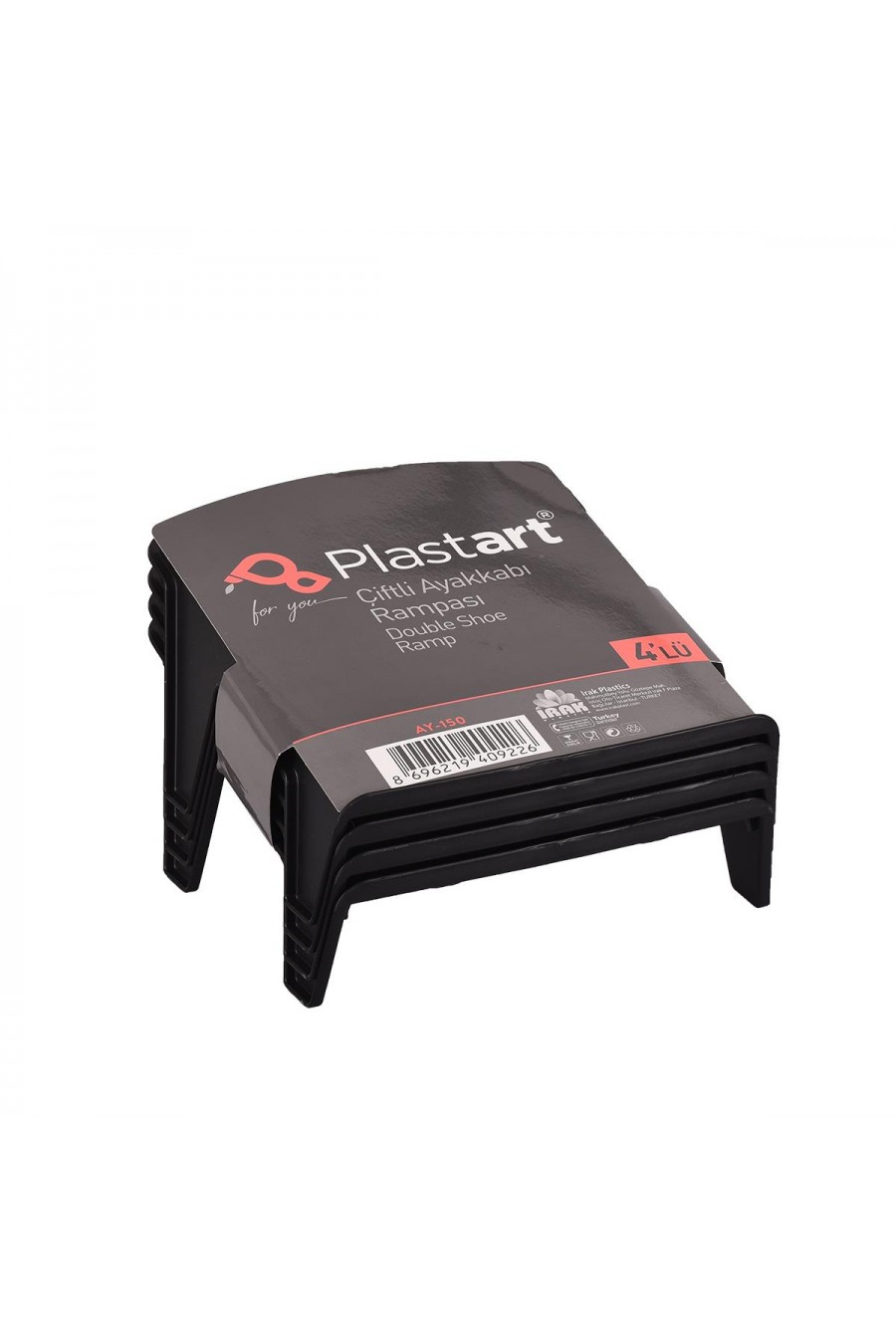 PlastArt 4 ad. Çiftli Ayakkabı Rampası