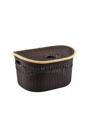 PlastArt Kapaklı Kirli Çamaşır Sepeti   24 lt.