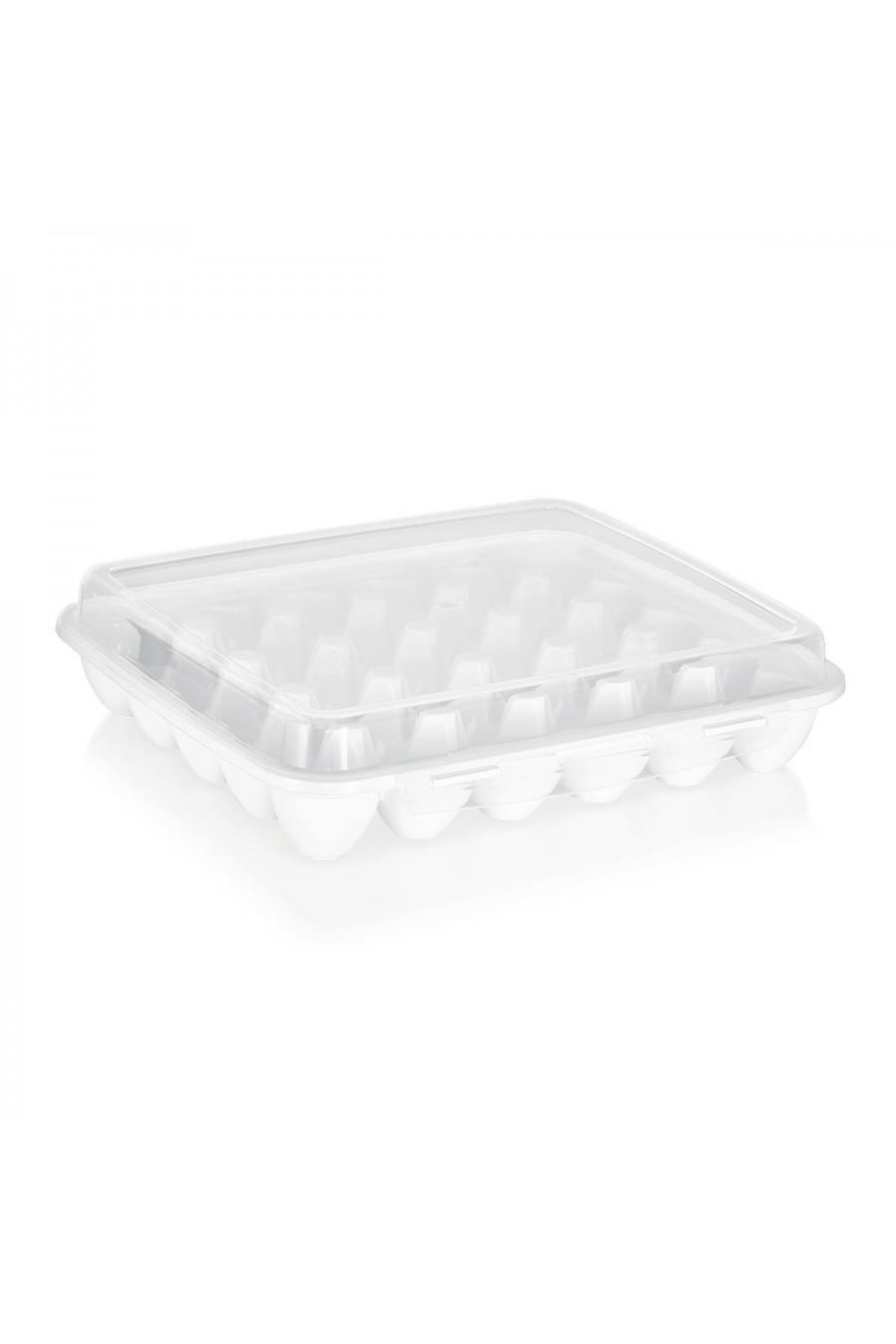 PlastArt Kilit Kapaklı Yumurtalık | 30'lu