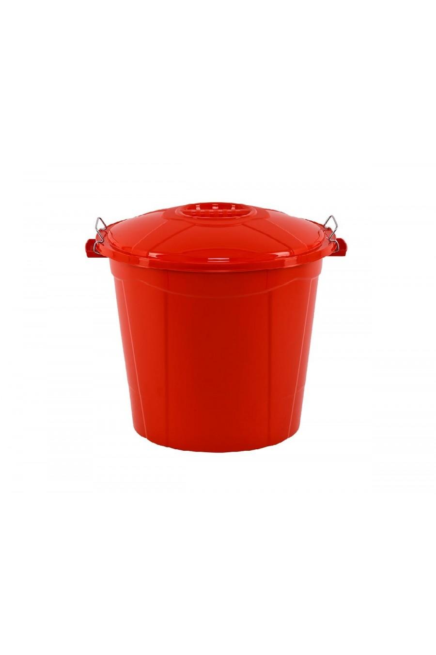PlastArt Kırmızı Bakliyat Kovası | 55 lt.