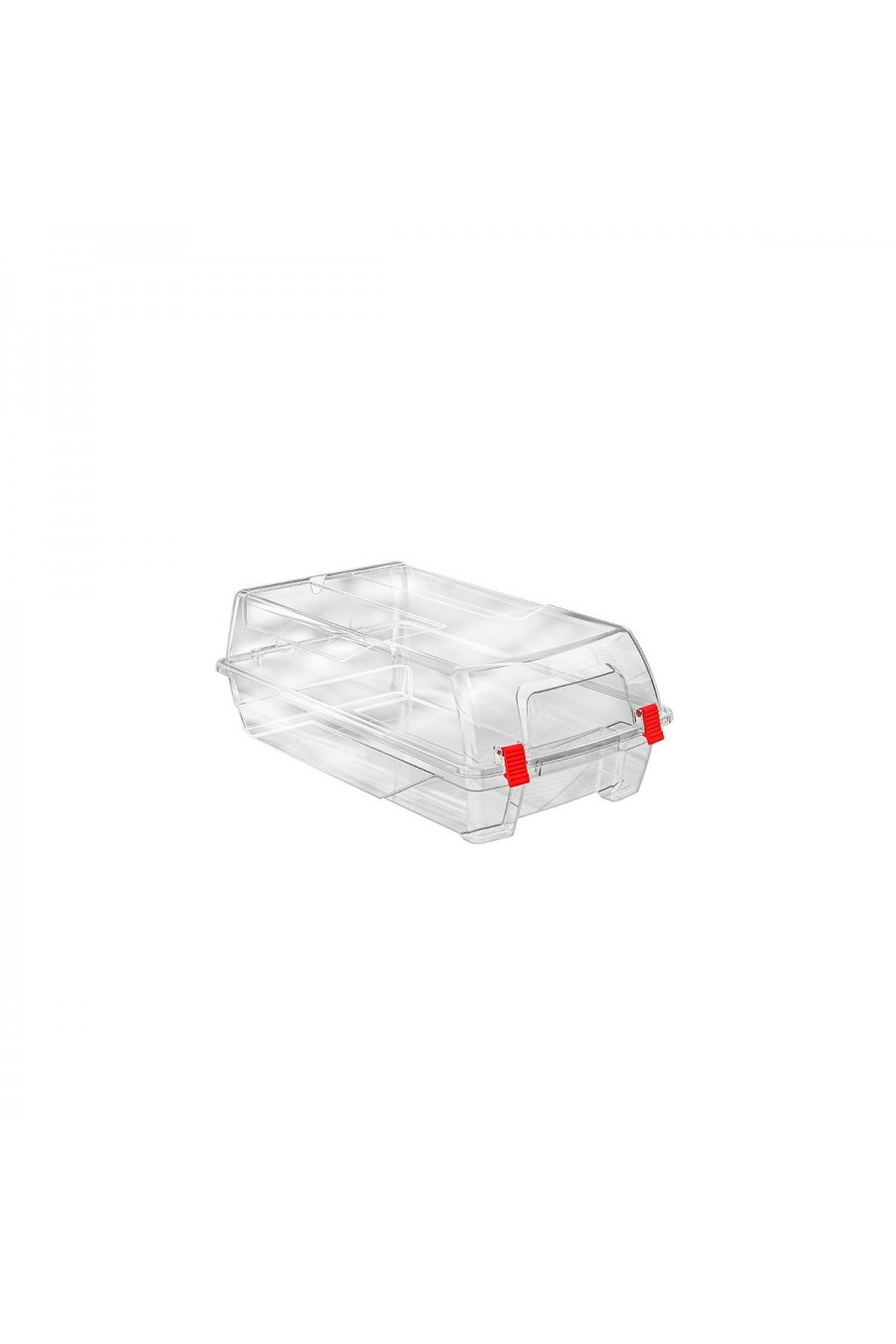 PlastArt Klipsli Kadın Ayakkabı Kutusu | Şeffaf