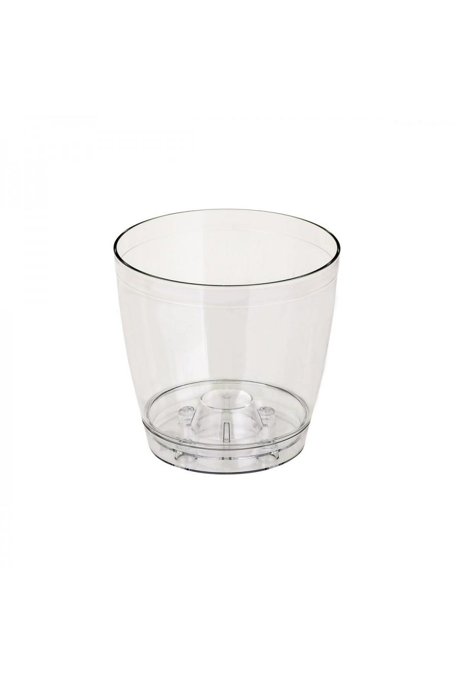 PlastArt Kristal Orkide Saksı | 1,5 lt.